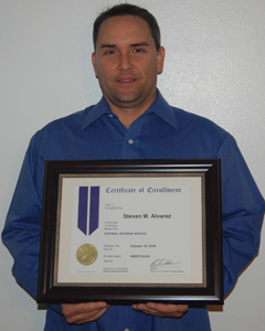 tampa enrolled agent 241x300 Tampa CPA Firm Accountant, Steven Alvarez, Receives Enrolled Agent Status